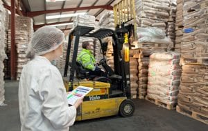 Health and Safety Inspection in warehouse