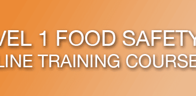Certified Online Training designed to the FSAI (Food Safety Authority of Irelands)