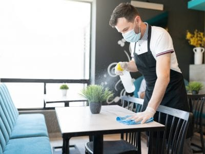 COVID-19: Tips for using and maintaining café and restaurant PPE