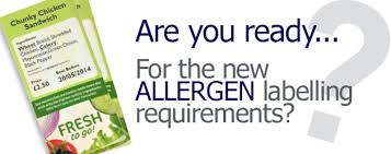 Allergen Labelling – It's the Law!