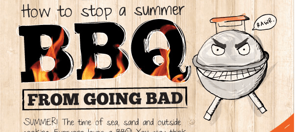 BBQ Food Safety basics - How to prevent food poisoning - The