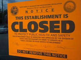 More Closure Orders Issued on Food Business's by the FSAI
