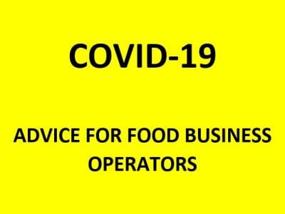 Advice for food business operators – COVID-19