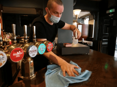 Need to serve food to reopen your pub?